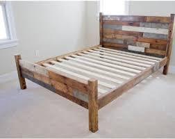 Luxury Reclaimed Wood Bed Frame