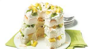 dessert aux kiwis facile gâteau des anges aux kiwis et à l ananas recettes iga desserts