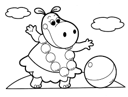 Baby Animals Coloring Pages Kids