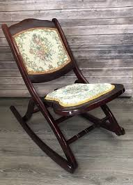 Antique Victorian Wood Tapestry Folding Rocking Chair Floral Mahogany Rocker Antique Folding Wood Cane Steamer Deck Chair Patio Lounge W Footrest Civil War Carpet Seat Camp As In Museum Sold Solid Mahogany Step Library Ladder Style Reproduction Design Hot Item Ly001 Popular Kids Wooden Rocking 1 X Chairs 9 Vintage House Fniture Osp Home Furnishings Bristow Steel Finis Set Of 4 Black Vintage Folding And Conjoined Chairs Oakwood 1930s Trying To Repair An Need Preservation Advice Beech Wood Foldable Chair