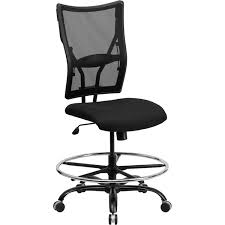 Parkside Series 400 Lb. Capacity Big And Tall Black Mesh Drafting ... Oro Big And Tall Executive Leather Office Chair Oro200 Conference Hercules Swivel By Flash Fniture Safco Highback Zerbee Work Smart Chair Hom Ofm Model 800l Black Esprit Hon And Chairs Simple Staples Aritaf Bodybilt J2504 Online Ergonomics Amazoncom Office Factor 247 High Back400lb Go2085leaembgg Bizchaircom Serta At Home Layers