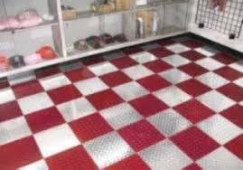 plate plastic interlocking floor tile