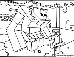 Minecraft Coloring Pages Free Download Printable Image