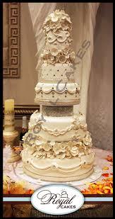 Classic Classic Zoom in Beautiful five tier wedding cake