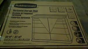 Rubbermaid Horizontal Storage Shed 32 Cu Ft by Suncast Storage Shed 200 Cu Ft Model Bms7300