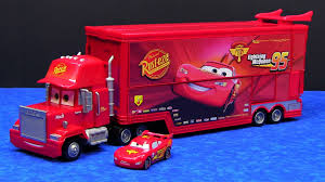 Cars Mega Mack Raceworld Playset Made By Mattel Hauler Semi Truck ...