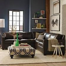 West Elm Rochester Sofa by Crosby Set 3 Left Arm Loveseat Right Arm Chaise Worn Velvet