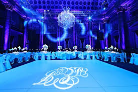 Blue Jewish Wedding NYC