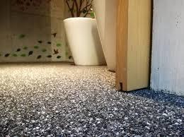 steinteppich der kieselsteinboden für das badezimmer