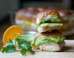 Cilantro Citrus Aioli Cuban Sliders