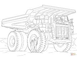 Click The Dump Truck Coloring Pages To View Printable Version Or Color It Online Compatible With IPad And Android Tablets