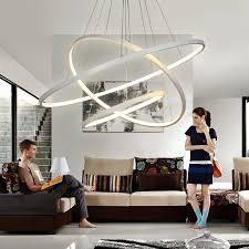 modern led chandelier lights for living dining room cristal lustre
