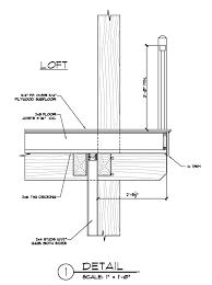Hybrid Construction Over Built Loft Timberd Floor System