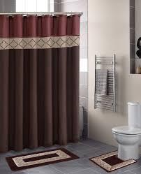 Sears Canada Bathroom Rugs by Contemporary Bath Shower Curtain 15 Pcs Modern Bathroom Rug Mat