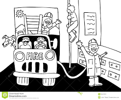 Fire Truck Clipart Black And White Letters Regarding | Rescuedesk.me