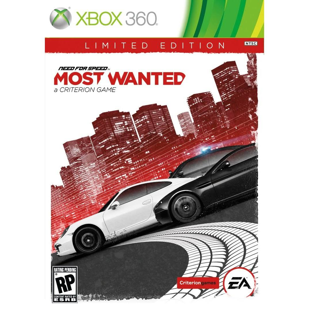 Need for Speed Most Wanted Limited - Xbox 360