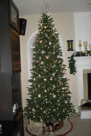 Strikingly Design 9 Ft Prelit Christmas Tree Pre Lit Clearance Slim
