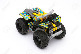 100 Lego Technic Monster Truck Tambov Russian Federation Jule 16 2015 Quad Stock