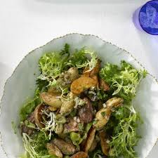 Frisee Fingerling Potato Salad