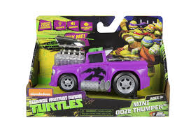 100 Thumper Truck Teenage Mutant Ninja Turtles Lights And Sounds Mini Ooze