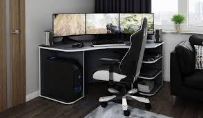 homexperts gamingtisch passend für drei 28 monitore kaufen otto