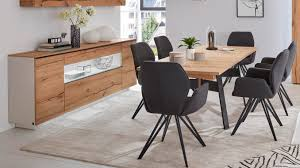 interliving wohnzimmer serie 2103 sideboard 560811 mattweißer lack asteiche zwei türen zwei schubladen