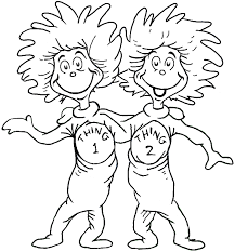 Dr Seuss Free Coloring Pages