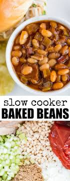 Slow Cooker Baked Beans Taste A Million Times Better Than What You Get Out Of