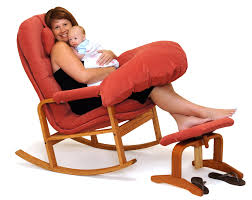 Poang Rocking Chair For Nursing by Good Chairs For Nursing We Crafted This Plush Glider With Nursing