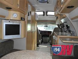 Used 2006 Pleasure Way Chevrolet Lexor TD Class B Motorhome RV Interior