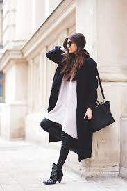 i was wearing front row shop sweater dress sheinside black scarf