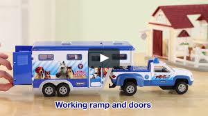 Breyer Stablemates Animal Rescue Truck & Trailer On Vimeo Bruder 02749 Man Tga Cattle Transportation Truck With 1 Cow New Breyer Horse And Trailer Breyer 5356 Stablemates Gooseneck In Box Traditional Two Millbry Hill Amazoncom Animal Rescue And The Best Of 2018 Pickup Fort Brands 5352 Wyldewood Tack Shop Used Red Dually Truck Trailer Sn14 North Wraxall For 19 Scale Twohorse Horze Series Dually