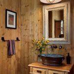Rustic Bathroom Lighting Ideas by Bathroom Lighting Pipe Bathrooms Farmhouse Rustic Bathroom