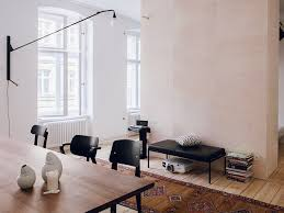 dining room in the freunde freunden vitra apartment berlin