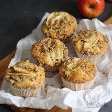 apfelkuchen streusel muffins
