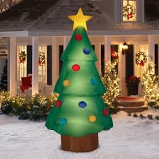 8ft Christmas Tree Ebay by Airblown Inflatable Christmas Tree Giant 10ft Tall Yard Deco By