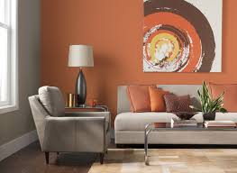 Most Popular Living Room Paint Colors by Living Room Burnt Orange Paint Color Ideas For Small Ideascolour
