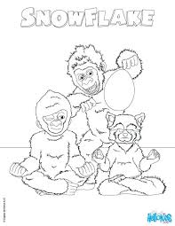 Frozen Snowflake Coloring Pages Mandala The White Gorilla Printing Page Movie Book