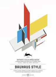100 Bauhaus Style Artists Colouring Book Pepin Van Roojen