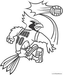 Volleyball Coloring Pages Print