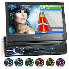 xomax xm vn745 1din navi autoradio mit gps usb und bluetooth