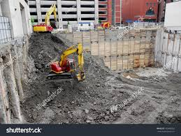 Construction Of Basement by Excavation Basement New Building Stock Photo 105088352 Shutterstock