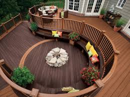Decks: Raised Vs. Grade-Level | HGTV Ranch Style Homes Pictures Remodels Hgtv Room Additions For Mobile Buzzle Web Portal Ielligent Stunning Deck Designs For Ideas Interior Design Apartments Ranch Homes With Walkout Basements Simple Front Porch Brick Columns Walk Out Basement House With Walkout Basement How To Homesfeed Image Of Roof Newest On White Houses Porches Back Plans Home And Decks Raised Vs Gradelevel Designs Design And
