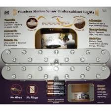 megabrite wireless motion sensor undercabinet led lights