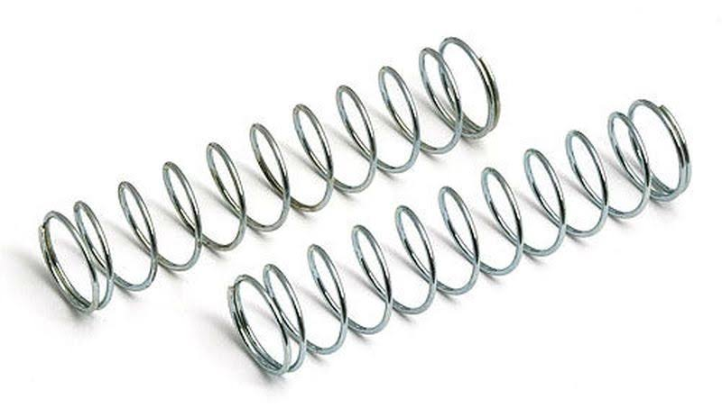 "Team Associated 6478 Rear Springs - Silver, 2.75""x0.42"", 2pk"