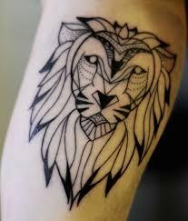 26 Lion Tribal Tattoo Ideas