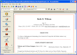 Resume Writing Is Easy Thanks To Builder