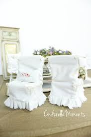 Parsons Chair Slipcovers Shabby Chic by Cinderella Moments Dollhouse Shabby Chic Dining Room Set