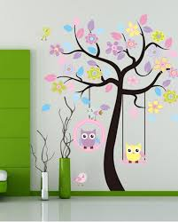 Tree Wall Decor Baby Nursery by Wall Kids Room Wall Design Awesome Kids Room Wall Decals