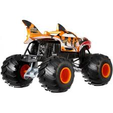 Hot Wheels Monster Trucks 1:24 Scale Shark Wreak - Walmart.com Pictures Of Monster Trucks Save First Female Cadian Truck 2011 Jam Series Hot Wheels Wiki Fandom Powered By Wikia Shark Shock Diecast Vehicle 124 Scale Sonuva Digger Vs Wreak Carro Attack Road Rippers Youtube Remote Control Wwwtopsimagescom 164 2pack Vs Amazoncouk 2002 Original Grave With Pinewood Derby Car Wooden Thing